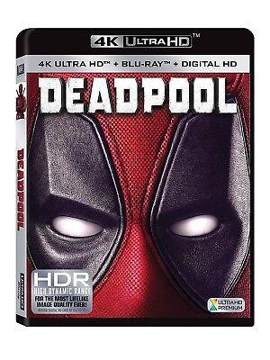 DEADPOOL (4K Ultra HD+ Blu-ray+ Digital HD) NEW - Ryan Reynolds