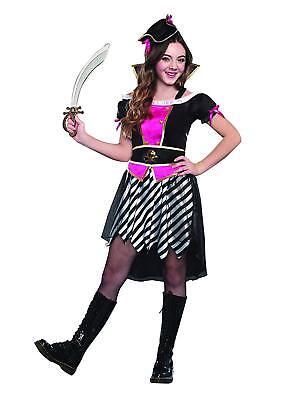 Sugar Sugar Pretty Lil' Pirate Girls/Tween Costume, X Large 12-14](Pretty Tween Girl)