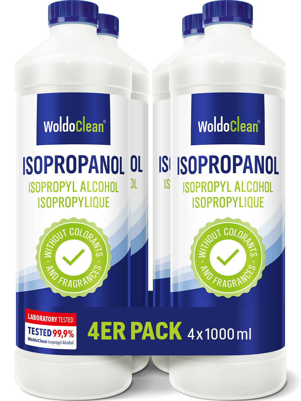 Isopropylalkohol Isopropanol 99,9% 2-Propanol IPA Nagellackentferner Reiniger