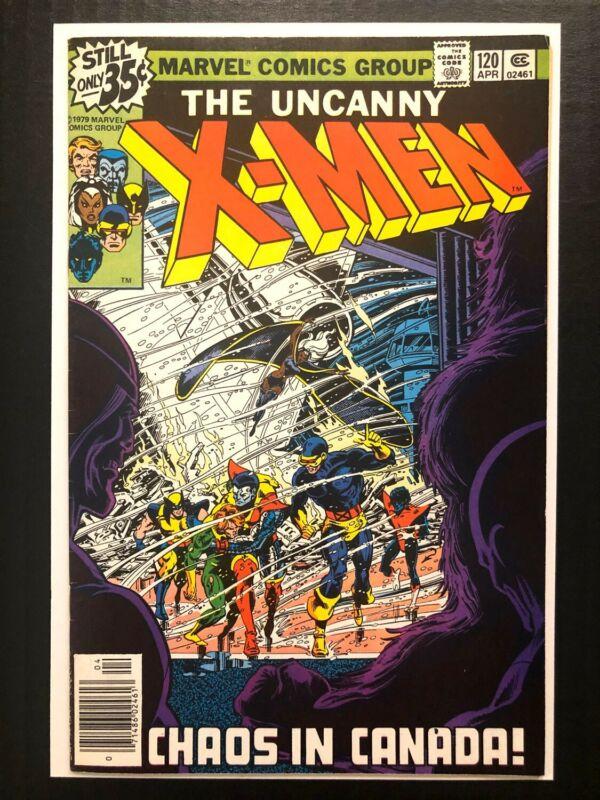 - Uncanny X-men 120 1st Alpha Flight VF+ 4/