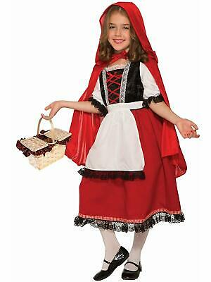 Little Red Riding Hood Storybook Fairy Tale Fancy Dress Halloween Teen Costume](Red Riding Hood Costume Teenager)