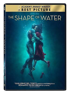 Used, The Shape of Water (DVD, 2018) for sale  Glenmoore