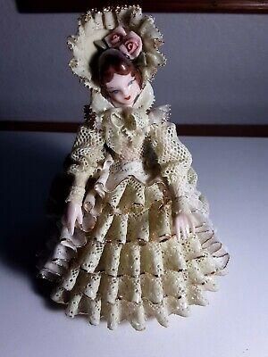 1950s Heirloom Tomorrow lace porcelain figurine