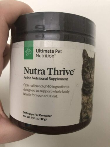 Nutra Thrive Cat Ultimate Feline Nutritional Supplement