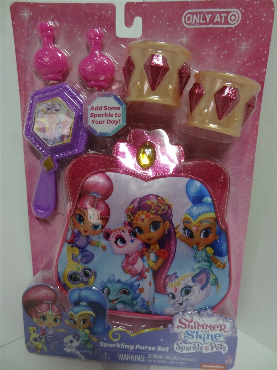 SHIMMER AND SHINE SPARKLE PETS SHINE GENIE OUTFIT BANGLES /& NECKLACE EXCLUSI