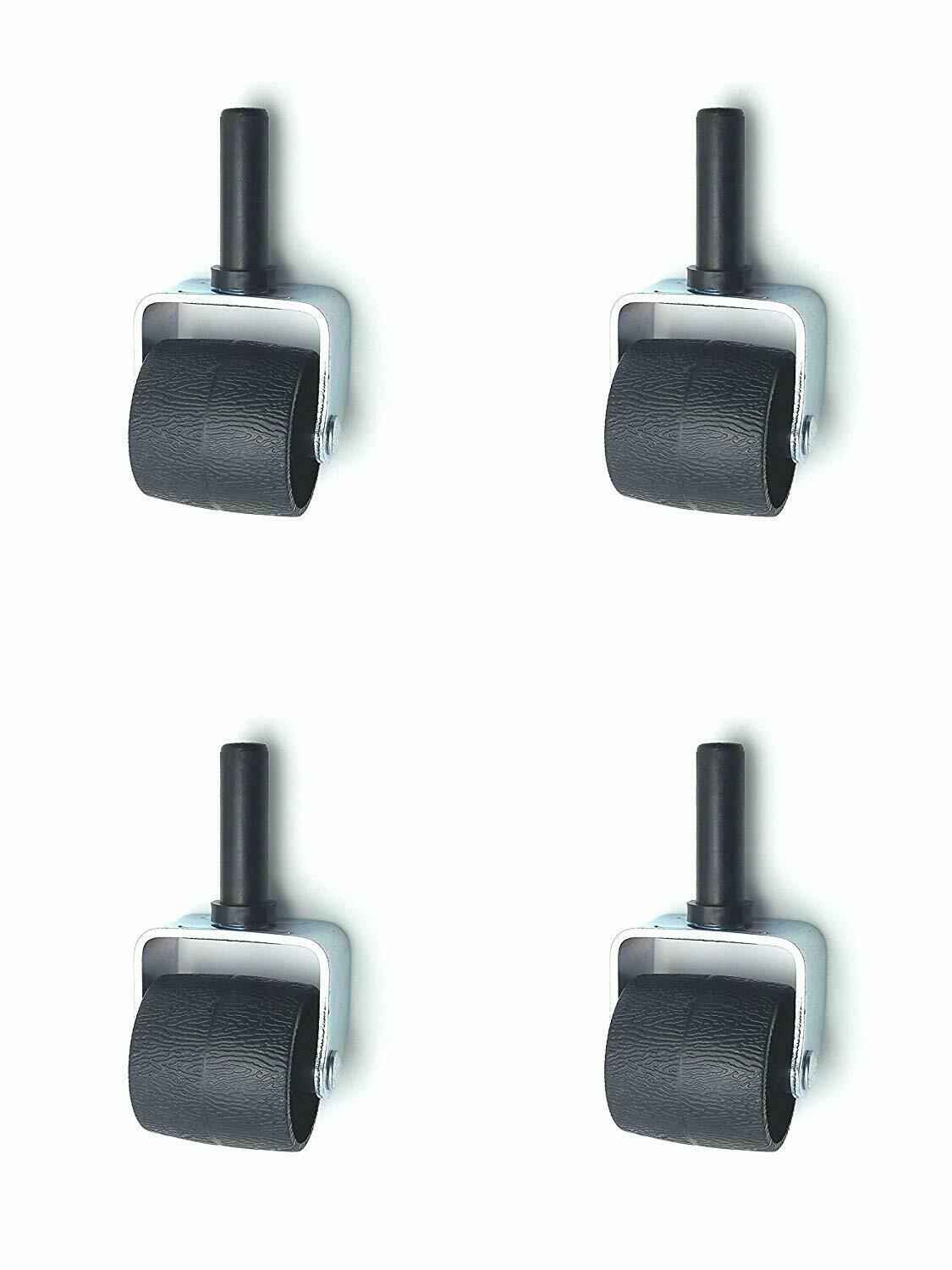 Brand New Bed Frame Replacement Caster Wheels/Rug Rollers wi