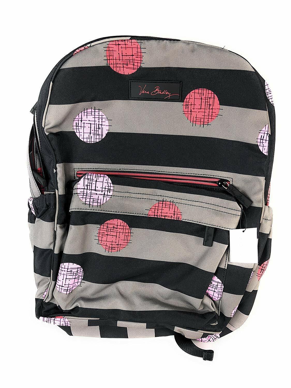Vera Bradley Womens Lighten Up Grande Laptop Backpack, Havan