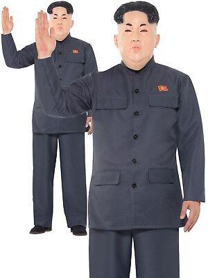 Kim Jung Un Koreanisch Rakete Launcher Diktator President Herren Kostüm Kostüm - Diktator Kostüm