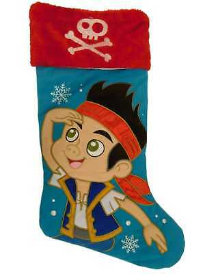 Disney Blue & Red Jake the Pirate Christmas Holiday - Pirate Christmas Stocking