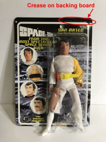 """Space 1999 Dan Mateo 8"""" Classic TV Toys Action Figure Series 4 - In Package"""
