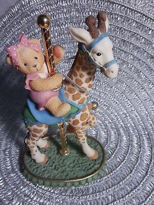 Vintage Cherished Teddys Flossie Figurine