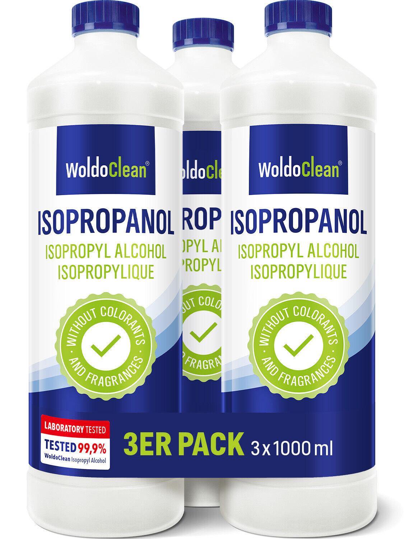 Isopropanol 99,9% Isopropylalkohol 2-Propanol IPA Reiniger Nagellackentferner 3l