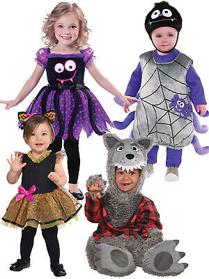 Baby Girl Spider Halloween Costume (Toddler Halloween Costume Spider Cat Wolf Baby Fancy Dress Boys Girls Book)
