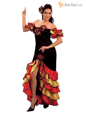 Kostüm spanische/mexikanische Tänzerin - Rumba/Salsa/Flamencokleid - Größe - Flamenco Spanische Tänzerin Kostüm