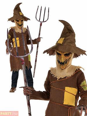 Boys Scary Scarecrow Costume Child Teen Horror Halloween - Halloween Kostüme Teen Boys