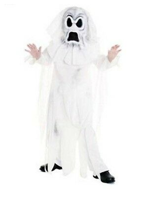Boys Ghost Halloween Costume With Robe And Mask Spirit Costume - Spirit Halloween Costumes For Boys