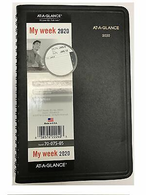 2020 At-a-glance 70-075-05 Weekly Appointment Book 4 78 X 8 Inches