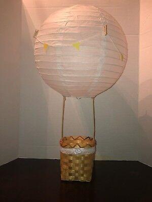 Baby Shower Birthday Party CenterPiece Hot Air Balloon or Nursery - Hot Air Balloon Baby Shower Decorations