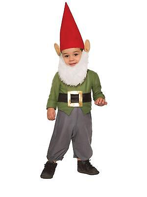 Gnome Garden Lawn Yard Elf Statue Fancy Dress Halloween Toddler Child Costume](Yard Gnome Costume)