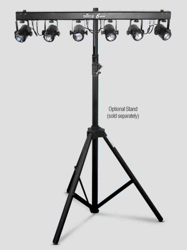 Open Box: Chauvet DJ 6SPOT 6 x 3W RGB LED Spot Lighting System