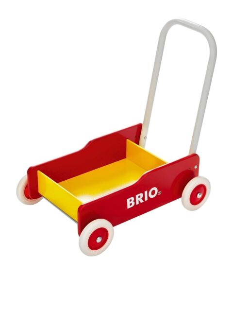 Brio Toddler Wobbler - Red/Yellow (Baby Walker) (3+) SF