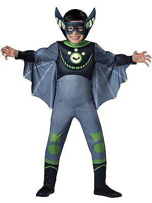Fledermaus Kostüme Jungen (Incharacter Deluxe Wild Kratts Grün Fledermaus Kind Junge Halloween Kostüm)