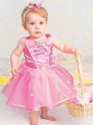 Baby Kleinkind Mädchen Disney Dornröschen Prinzessin Kostüm Kleid - Kleinkind Mädchen Disney Kostüm