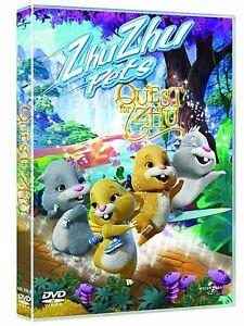 ZHU ZHU PETS - QUEST FOR ZHU DVD KIDS CHILDRENS MOVIE FILM Brand New UK Sealed