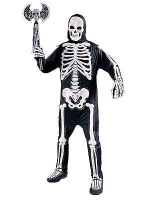 Mens Totally Skelebones Undead Skeleton Zombie Halloween Costume OSFM - A Zombie Costume