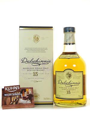 Dalwhinnie 15 Jahre Highland Single Malt Scotch Whisky 0,7l, alc.43 Vol.-%