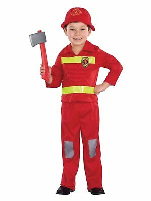 Totally Ghoul Infant & Toddler Boys Fireman Halloween Muscle Costume - Fireman Halloween Costumes Toddler