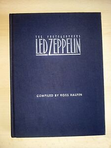 THE PHOTOGRAPHER'S LED ZEPPELIN - complied by: Ross Halfin - RARE / Out-Of-Print