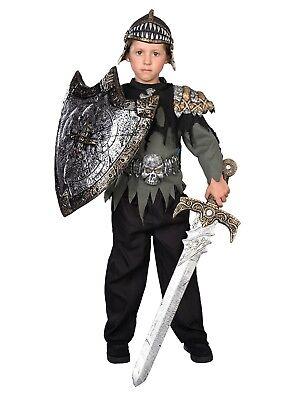 Top Halloween Costumes For Boys (Boys Knight Warrior Halloween Costume Top Pants Helmet &)
