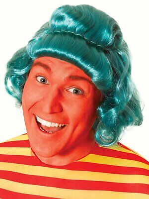 Oompa Loompa Wig Green Charlie Chocolate Factory Fancy Dress Costume - Oompa Loompa Wigs