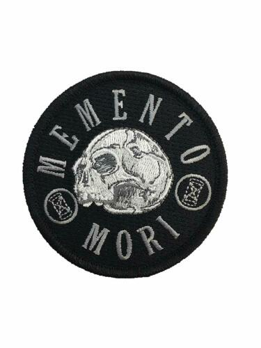 Memento Mori - Embroidered Tactical Morale Patch