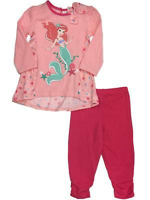 Infant Toddler Girls Disney Ariel Sand-dollar Starfish Silky