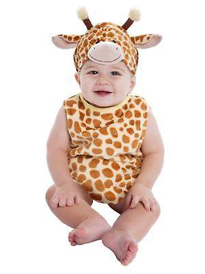 BRAND NEW Infant & Toddler Plush Baby Giraffe Halloween Costume 9-18 MONTHS