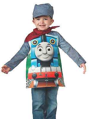 Thomas & Friends Toddler Boys Blue Train Conductor Costume & Hat 3-4T