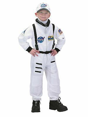 Charades Astronaut Flug Anzug Nasa Weiß Kinder Halloween - Kinder Flug Anzug