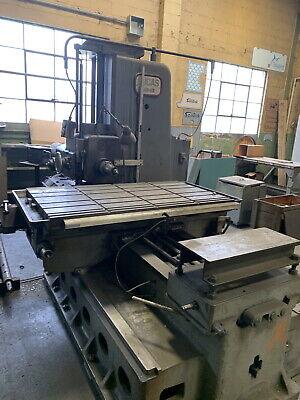 Lucas 41b 48 Table Type Horizontal Boring Mill 34 X 36tblwdro Tail Stock