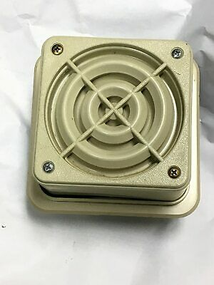Federal Signal Selectone Speakeramplifier 24vacdc 4 Square Beige
