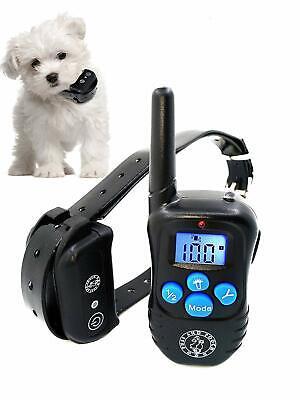 BEST Dog Training Bark Collar Remote 30 Meter Shock Collar w Humane (Best Remote Control Vibrator)