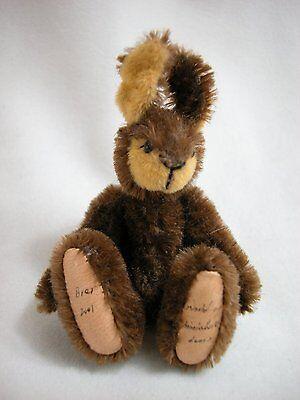 "World of Miniature Bears 3""  Mohair Rabbit Brer #999 Collectible Rabbit"
