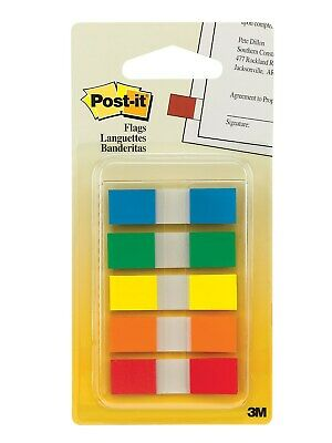Post-it Flags .47 Wide Assorted Colors 100 Flagspack 683-5cf 512251