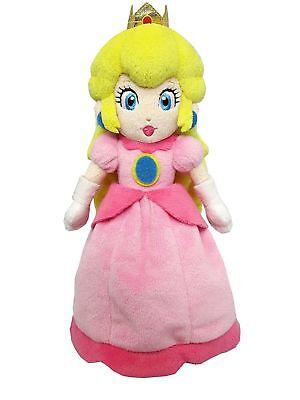 Super Mario Bros. Princess Peach Pink Costume Plush Toy Stuffed Doll - 8 inch  - Super Mario Bros Princess Costume