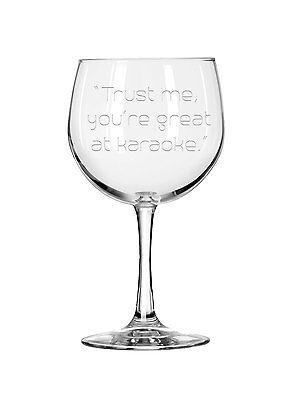 Custom Wine Glasses (Personalized Engraved Wine Glass,Funny Wine Glass,Etched Wine,Custom Wine)