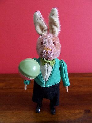 Schuco Pre-War Rabbit with Balloon / Tanz-Figure - Full Working Order - VGC