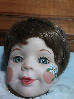 Vintage Porcelain Daisy Doll