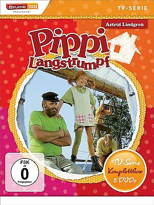 Pippi Langstrumpf - TV-Serie Komplettbox - 5 DVD Box