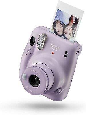 Fujifilm Instax Mini 11 Instant Film Camera -Lilac Purple instant film camera